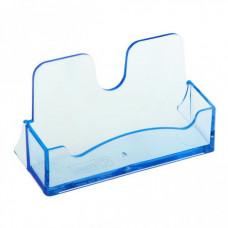Визитница настольная пластиковая ВТ03 тонир голуб (Стамм)