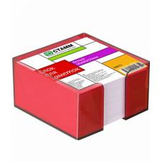 Блок для записи 90х90х50мм ПВ 75  в боксе (Стамм)