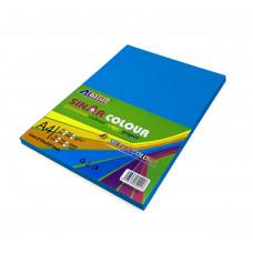 Цв бумага офисная А4 80 гр/100л синяя AL MBF