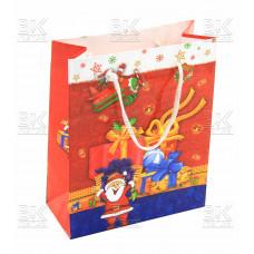 "Пакет подар. ""Дед мороз"" малень."