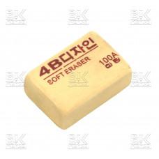Ластик 4В soft eraser коричневый