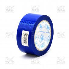 Клейкая лента ТРИУМФ синий 45ммХ75м, 45мкм (скотч) к/72