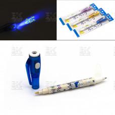 Ручка фонарик-шпион детская в блистере  европодвес  BD-826