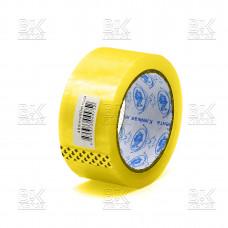Клейкая лента ТРИУМФ желтый 45ммХ75м, 45мкм (скотч) к/72