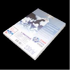 Фотобумага для струйной печати ДИЗАЙН A4 Кора глянц 230/50л  к/20