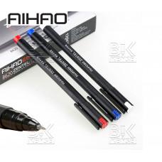 Ручка гел  AH-8620 AIHAO ZENTEL красный стер, 0,5мм