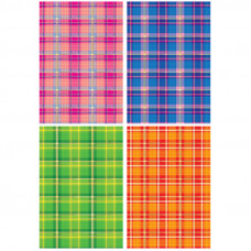 Картон цветной в наборе А4 с тиснением