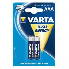 Батарейка Varta Longlife Micro 1.5V-LR03/AAA (2шт)