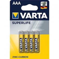 Батарейка Varta Superlife Micro 1.5V-R03P/AAA (4шт)