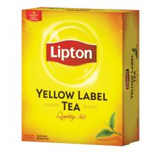 Чай Lipton черный 100пак 200гр