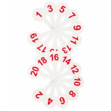Касса веер Цифры от 1 до 20 ВК05 (Стамм)