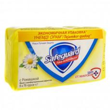 Мыло Safeguart 5 х75гр Ромашка